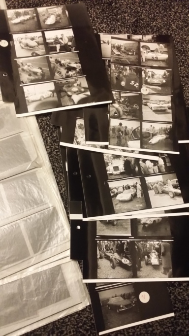 Negatives for the book Shutter and Speed.